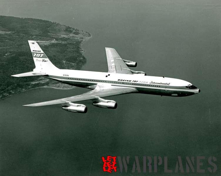 Boeing 707-320B N761PA company demonstrator
