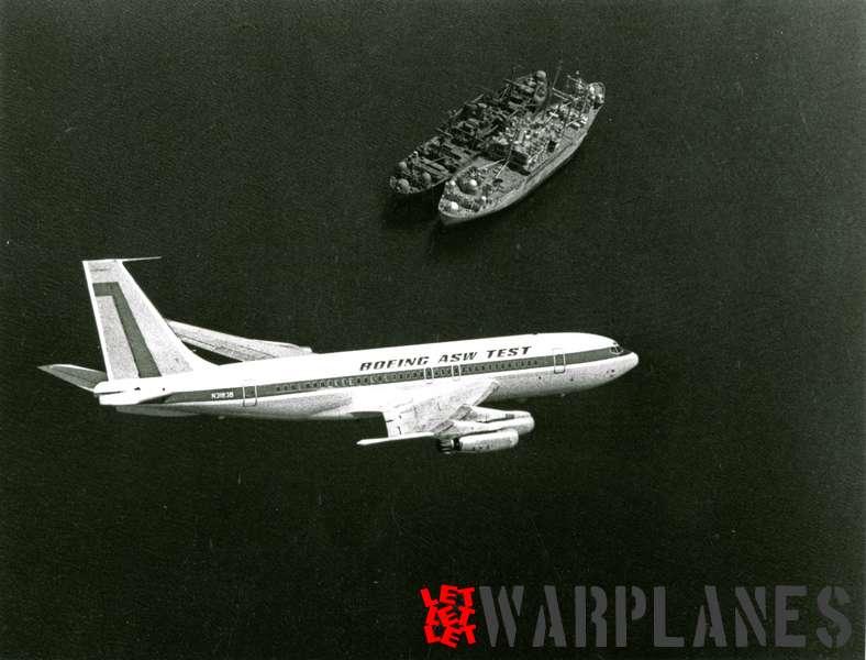 Boeing 707 ASW test plane N3183B