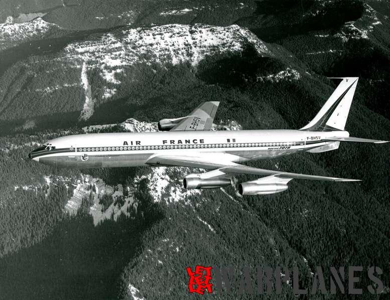 Boeing 707 Air France F-BHSV