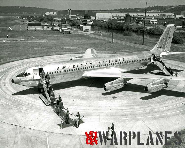 Boeing 707 American Airlines N7501A