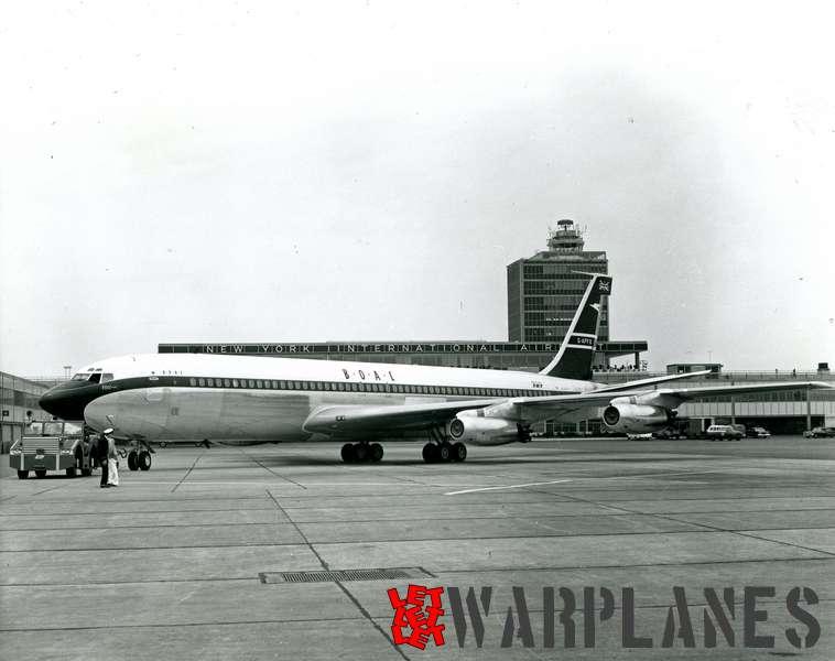 Boeing 707 B.O.A.C. G-APFD