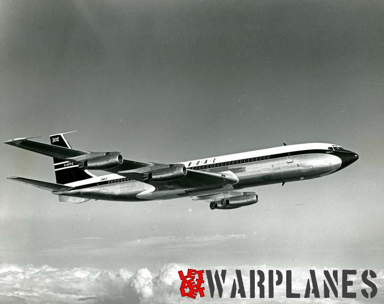 Boeing 707 B.O.A.C. G-APFE_1