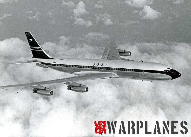 Boeing 707 B.O.A.C. G-APFE_2
