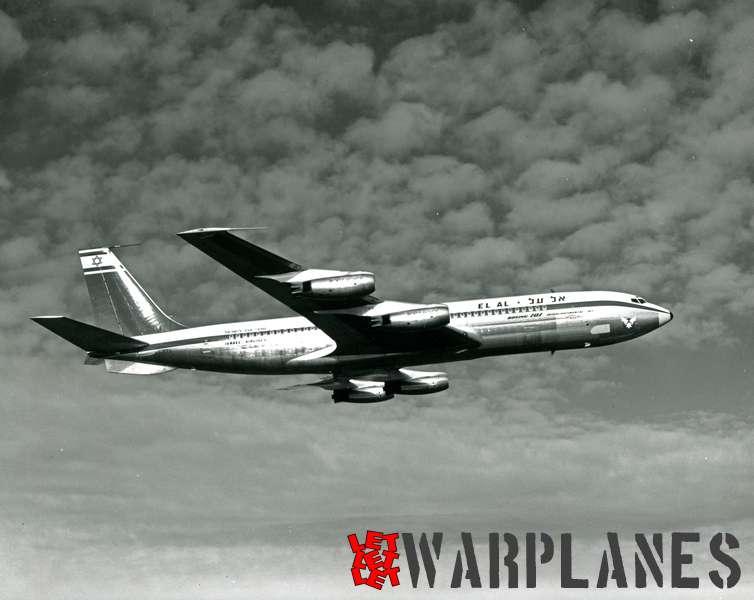 Boeing 707 El Al 4X-ATA