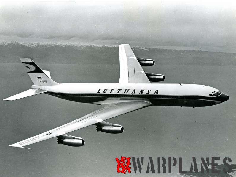 Boeing 707 Lufthansa D-ABOB