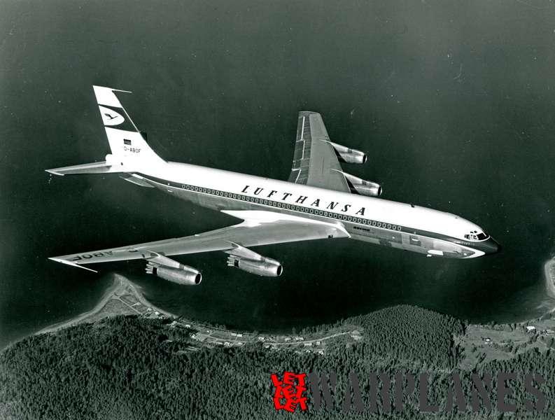 Boeing 707 Lufthansa D-ABOF