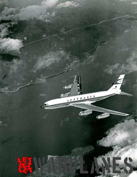 Boeing 707 Lufthansa D-ABOH