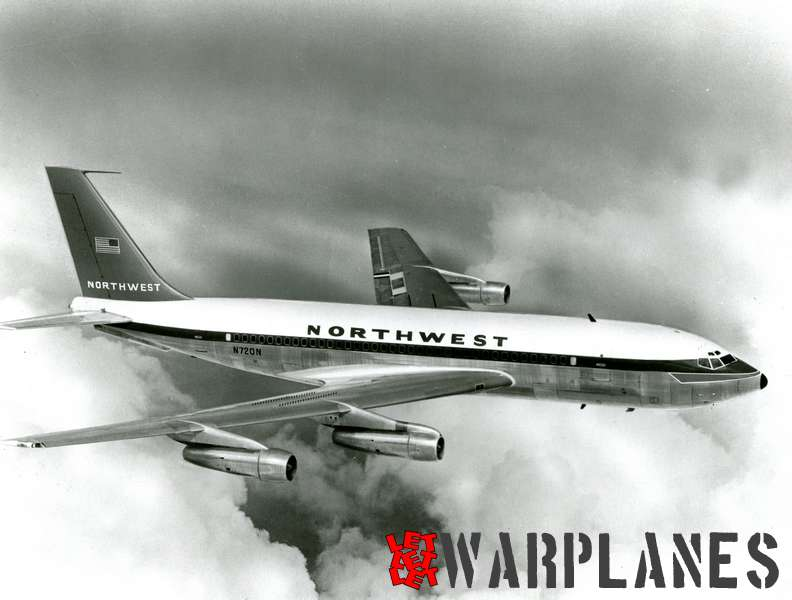 Boeing 707 Northwest N 720N