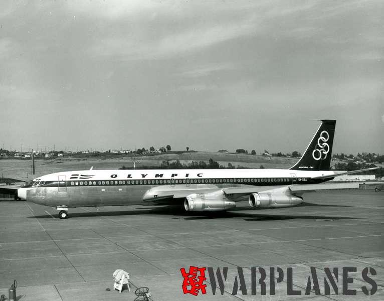 Boeing 707 Olympic SX-dba
