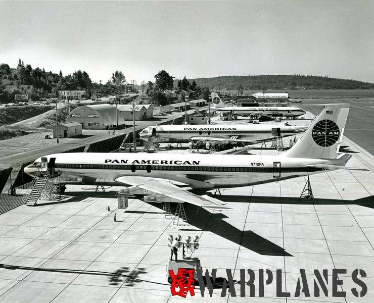 Boeing 707 Pan American N712PA