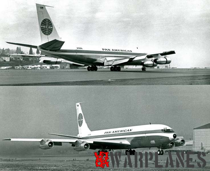 Boeing 707 Pan American N760PA