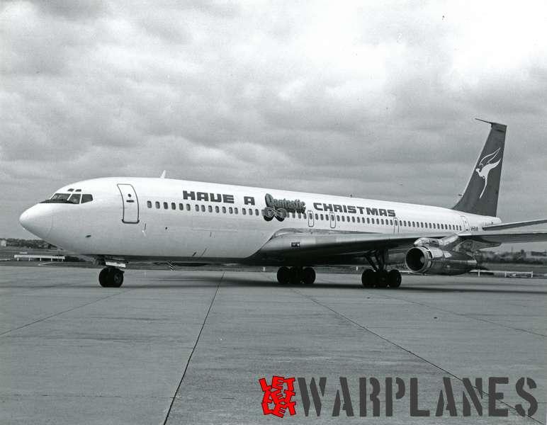 Boeing 707 Qantas VH-EAB