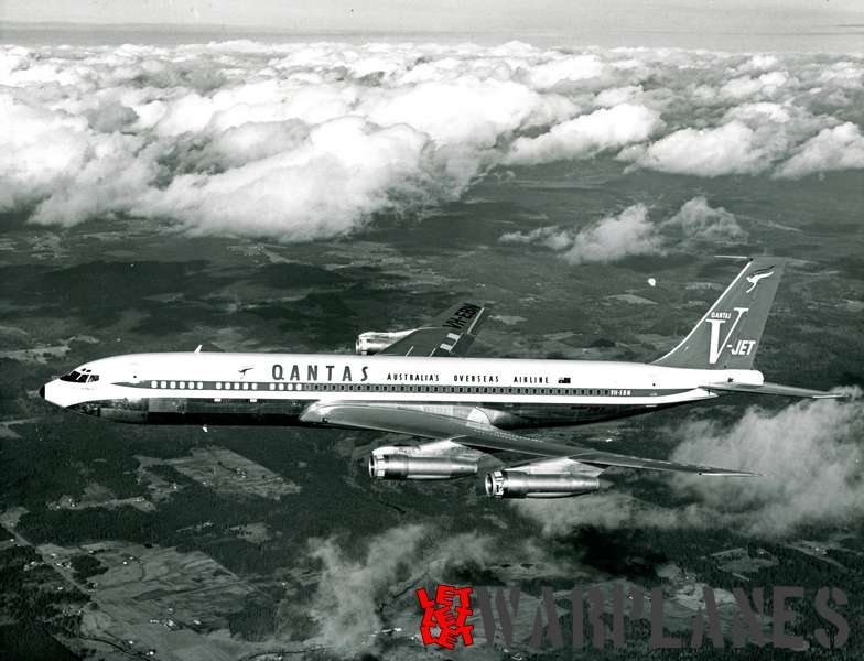 Boeing 707 Qantas VH_EBN_3