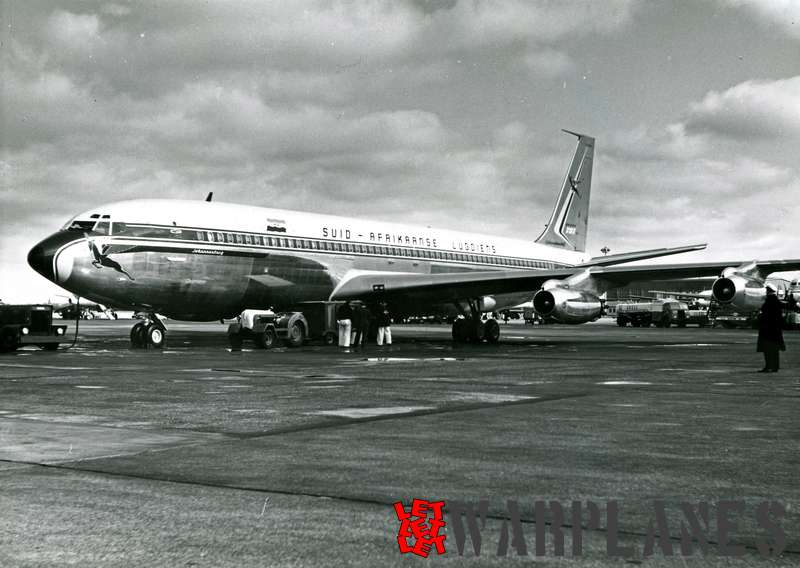 Boeing 707 South African Airways 'Johannisburg'