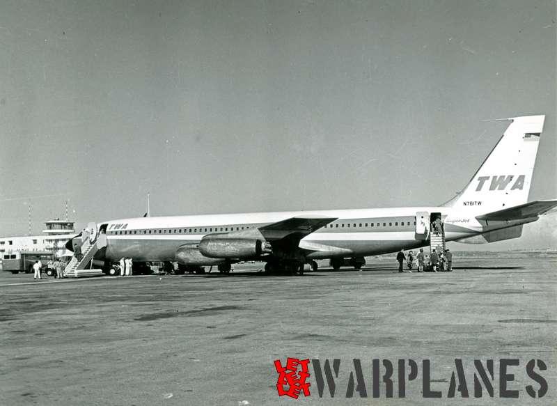 Boeing 707 T.W.A. N761TW