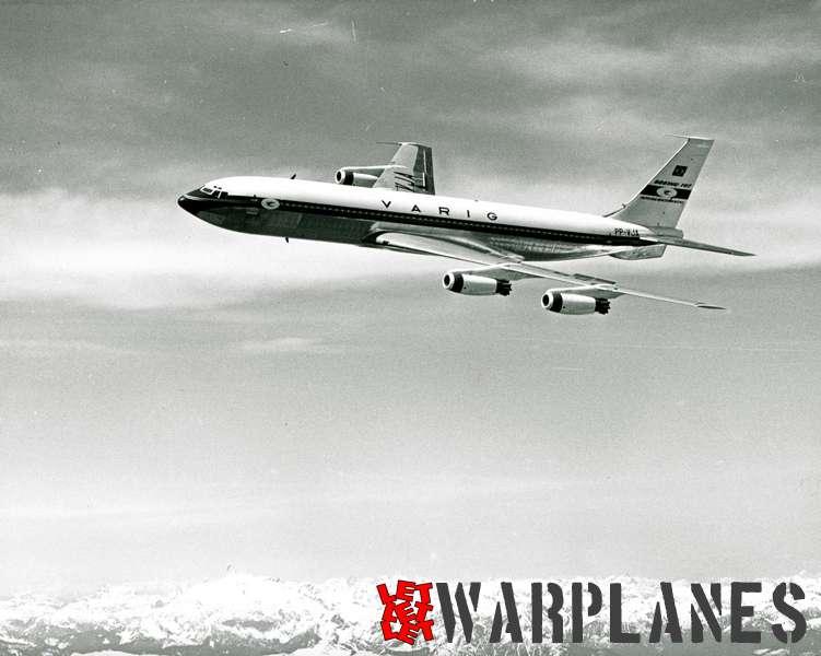 Boeing 707  VARIG PP-VJA