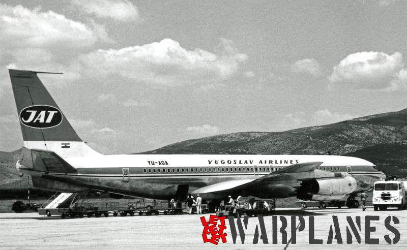 Boeing 707 Yugoslav Airlines YU-AGA