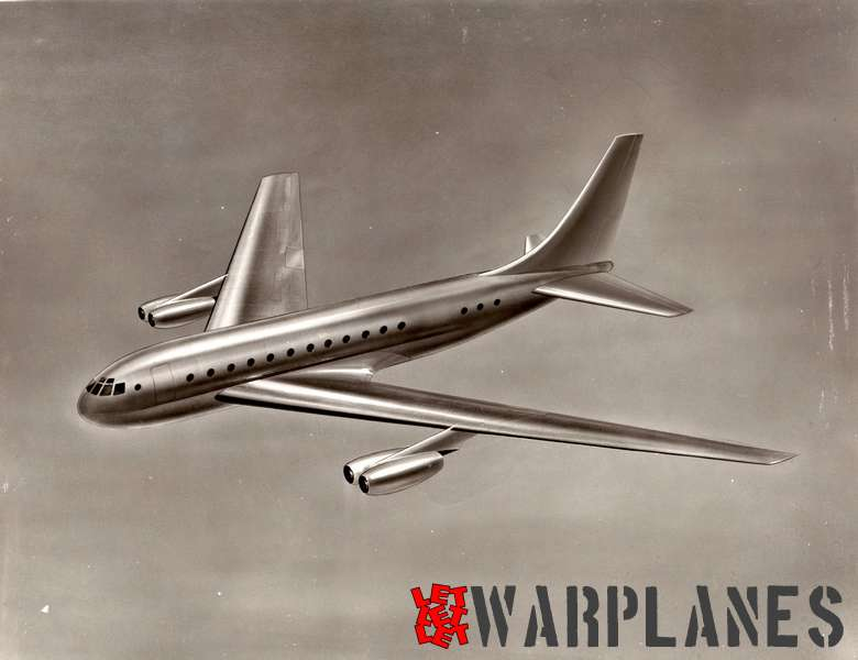 Boeing 707 early design