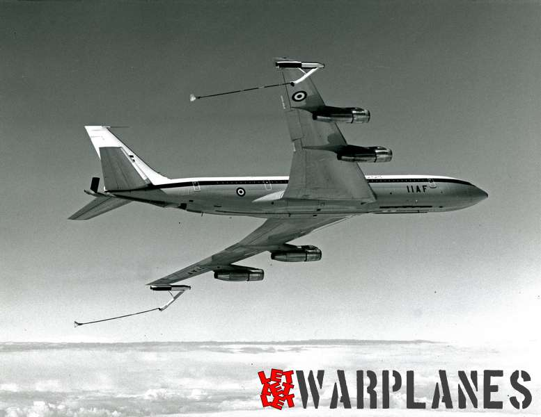 Boeing 707 tanker I.I.A.F.