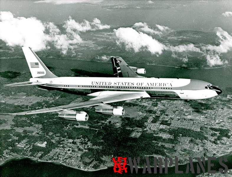 Boeing VC-135C no. 62-6000