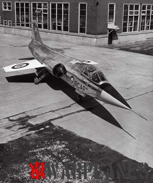 Canadair CF-104 Starfighter_1