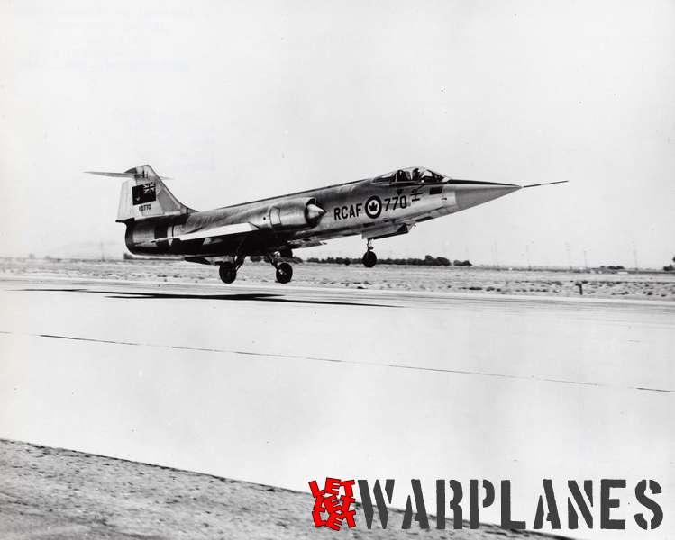Canadair CF-104 Starfighter_2