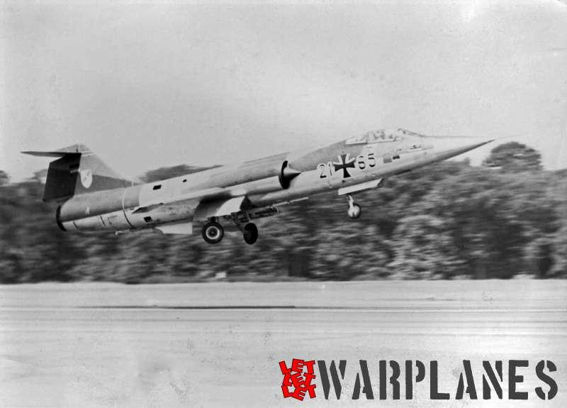 Lockheed F-104G 21#65 German Luftwaffe (Photo AFCENT)