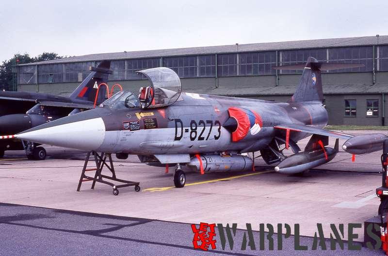Lockheed F-104G Starfighter D-8273 KLu with Orpheus pod