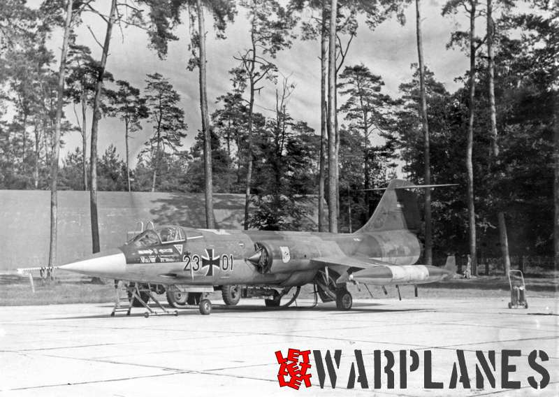 Lockheed F-104G Starfighter Luftwaffe 23 # 01
