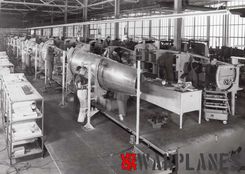 Lockheed F-104G licence construction at Messerschmitt, Augsburg
