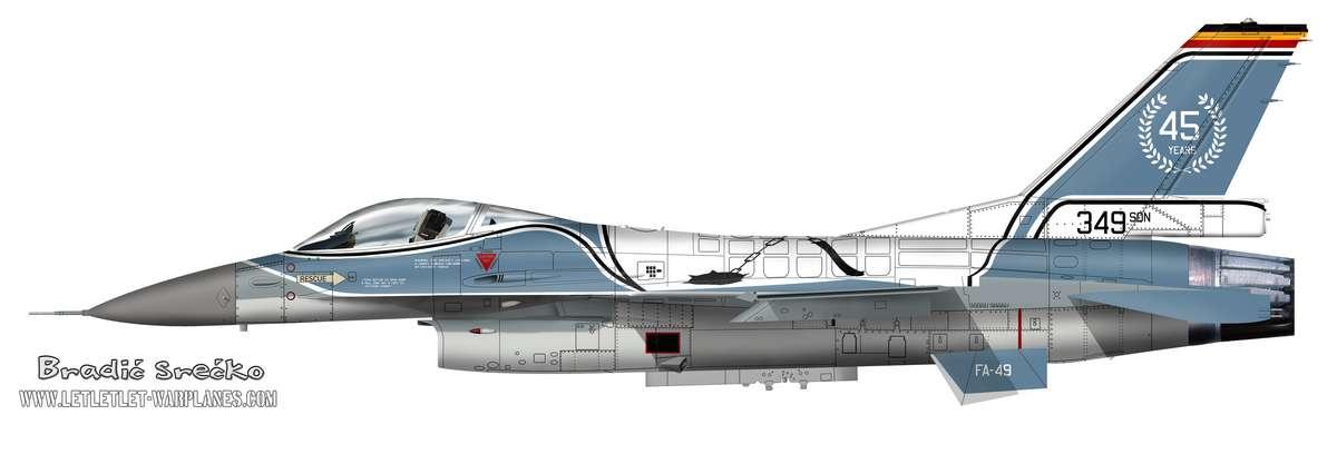 F-16A Belgique FA-49