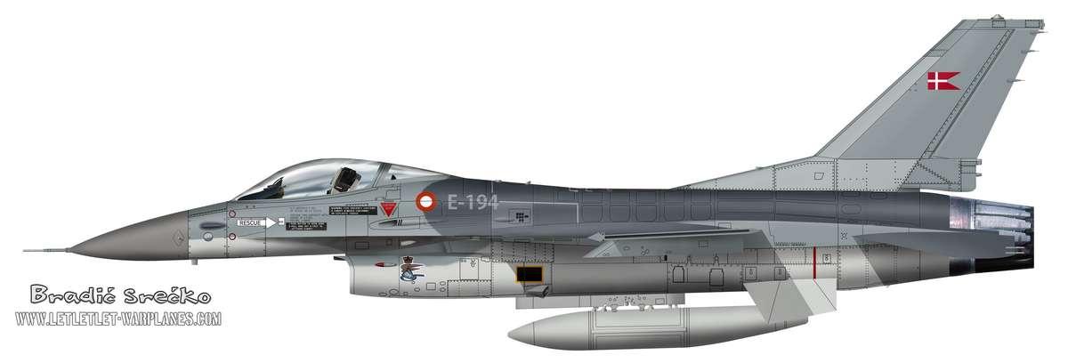 F-16A Dansk E-194