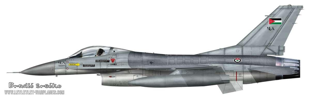 F-16A Jordan no 138