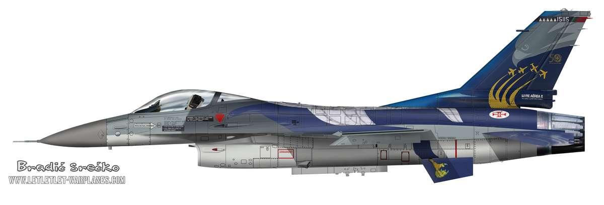 F-16A Portugal 15115