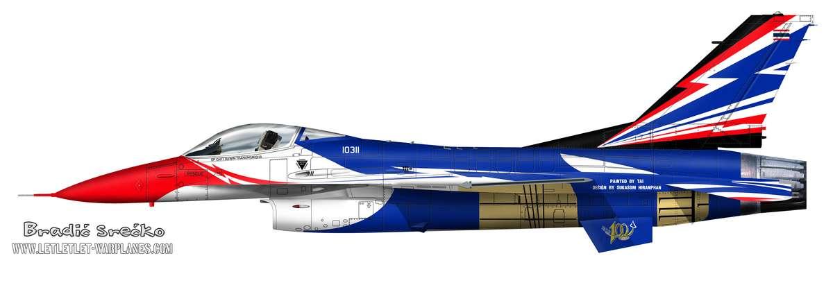 F-16A Thai 10311