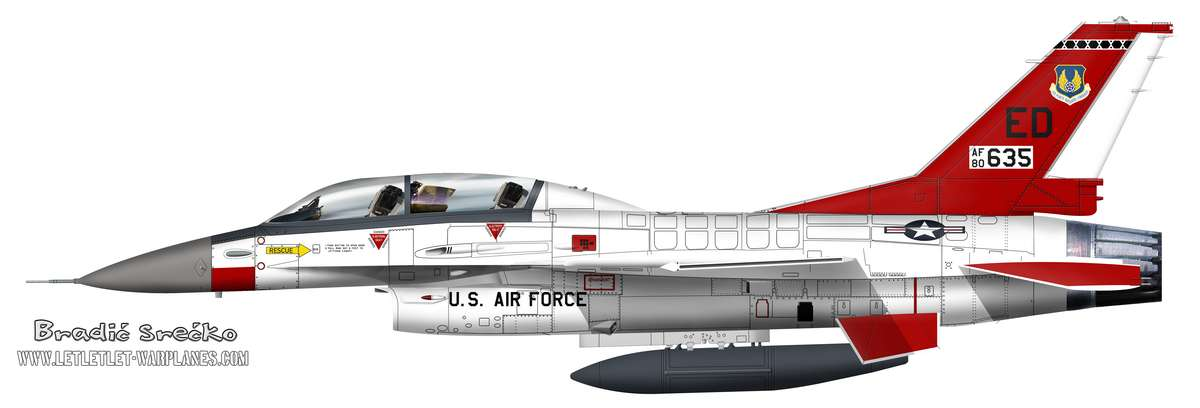 F-16B 2414205