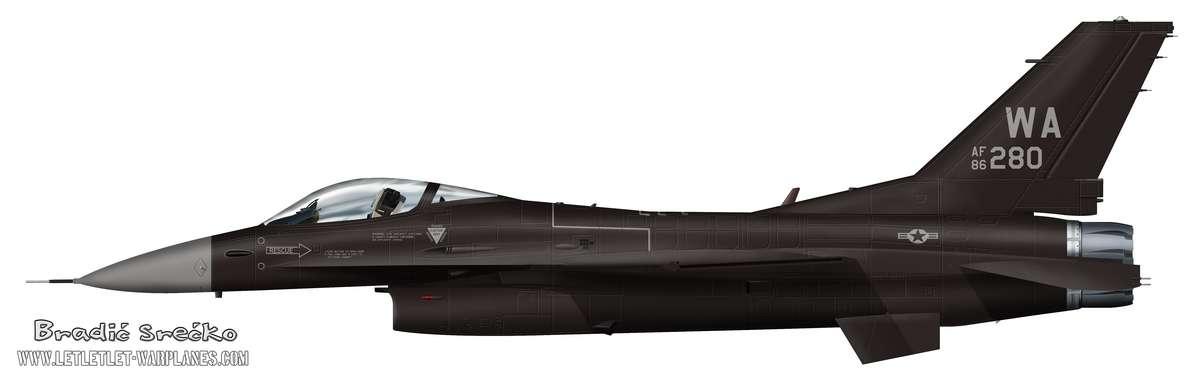 F-16C AF 86 280 Agressor