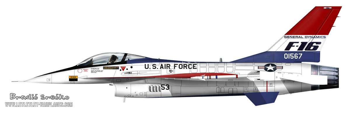 YF-16A 01567 53