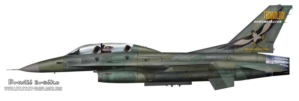 YF-16B 75-0752