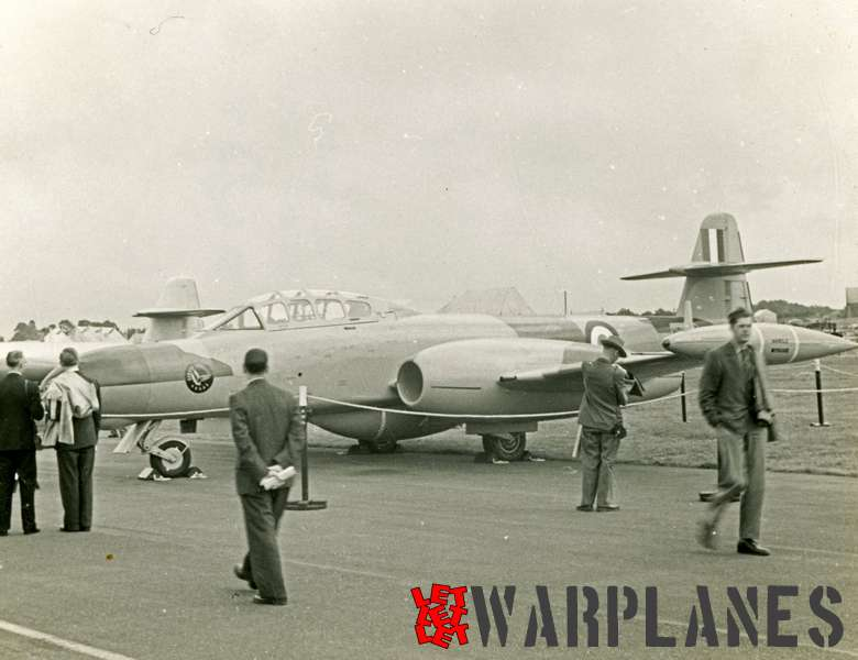 Gloster (Armstrong Whithworth) Meteor NF.11 at exhibition_1
