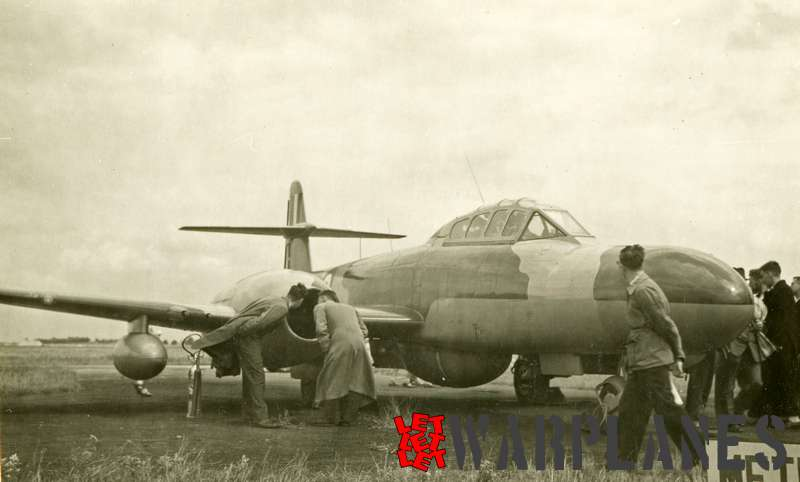 Gloster (Armstrong Whithworth) Meteor NF.11 at exhibition_2