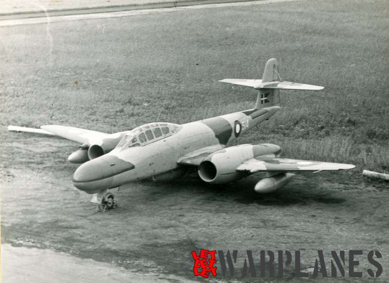 Gloster (Armstrong Whithworth) Meteor NF.11 no. 514 Danish air force