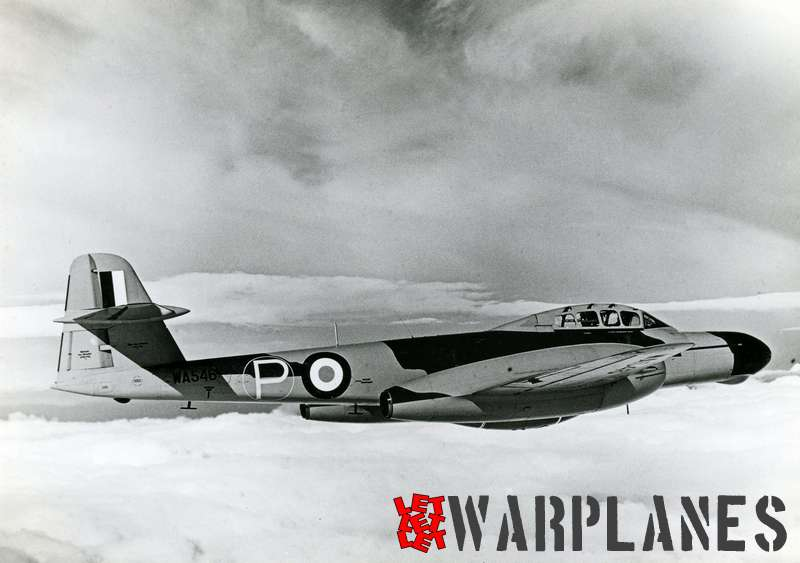 Gloster (Armstrong Whithworth) Meteor NF.11 prototype WA546_3