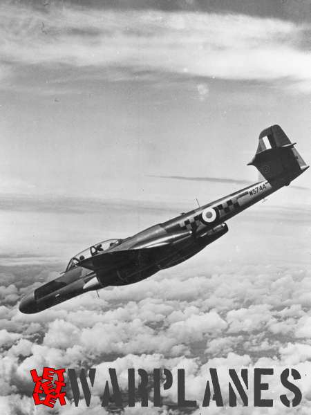 Gloster (Armstrong Whithworth) Meteor NF.14 WS744