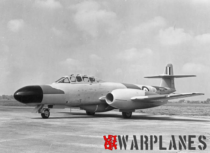 Gloster (Armstrong Whithworth) Meteor prototype WA546_3
