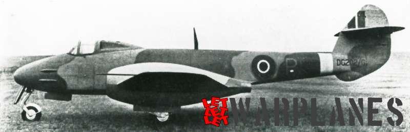Gloster Meteor 1st prototype DG202_G