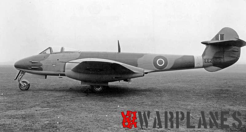 Gloster Meteor F.3 (Derwent) EE249_G
