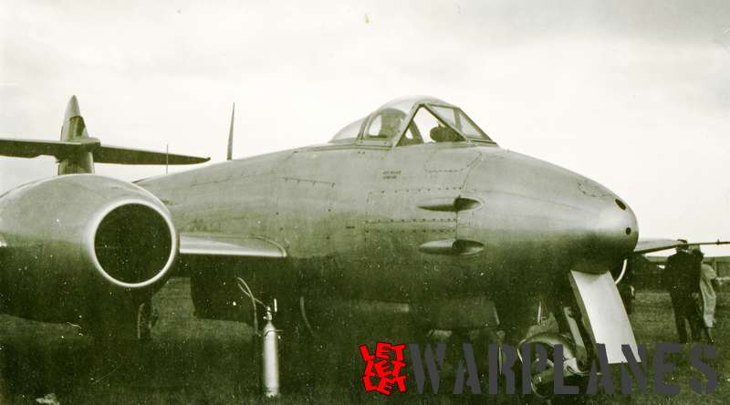 Gloster Meteor F.4 Belgium air force, Melsbroek June 1952