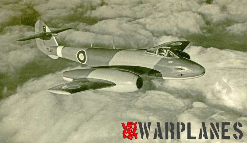 Gloster Meteor F.4 EE521
