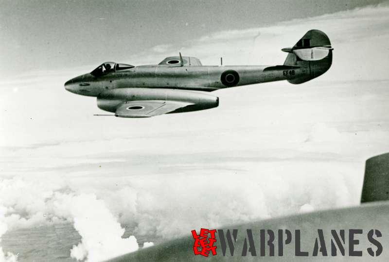 Gloster Meteor F.4 EF48 Belgian air force